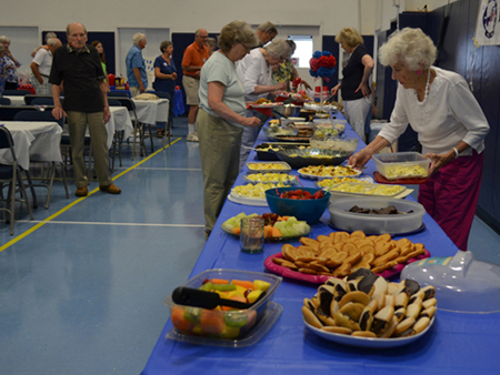 The club's July 4 Bash on July 11 was a great success. Democrats love to get together and eat good food and talk politics. See a slide show by following the link below.